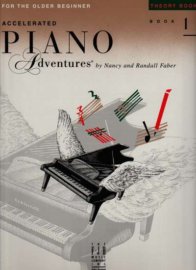 photo of Accelerated Piano Adventures, Theory Book, Level 1, 2000 edition
