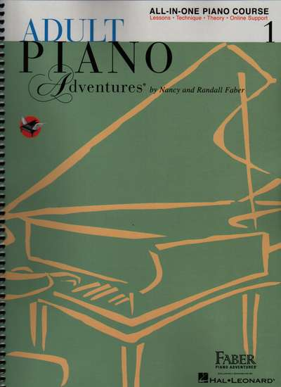 photo of Accelerated Piano Adventures, All-In-One Lesson Book, Level 1, with 2 CDs