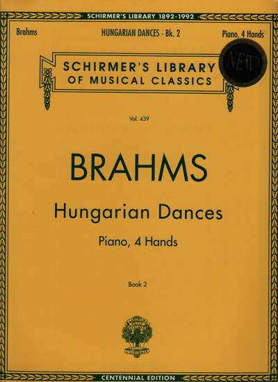photo of Hungarian Dances, Piano, 4 Hands, Book 2