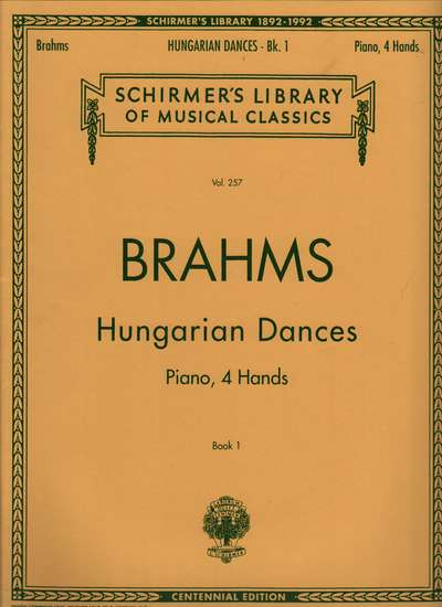 photo of Hungarian Dances, Piano, 4 Hands, Book 1