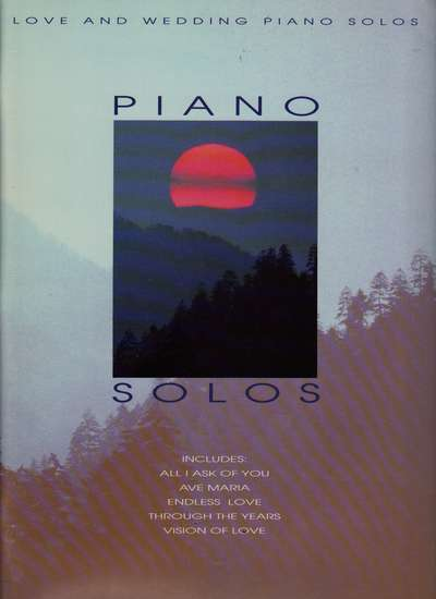 photo of Love and Wedding Piano Solos