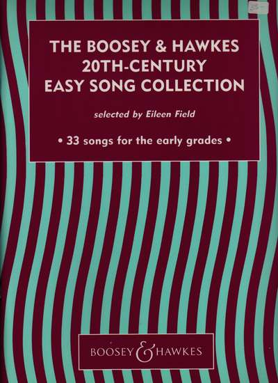 photo of The Boosey & Hawkes 20th-Century Easy Song Collection, 33 Songs for Early Grades