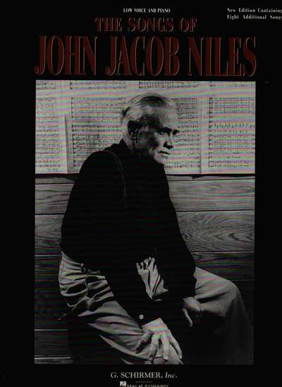 photo of The Songs of John Jacob Niles, Low Voice and Piano