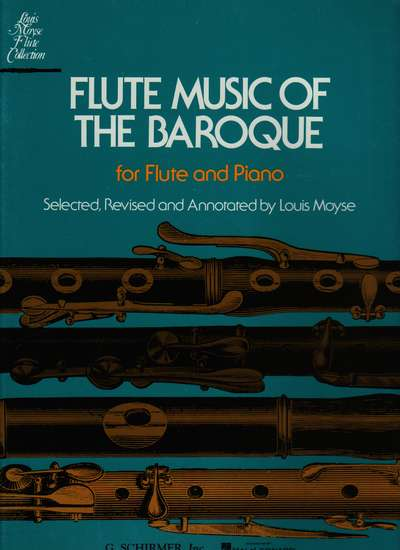 photo of Flute Music of the Baroque for Flute and Piano