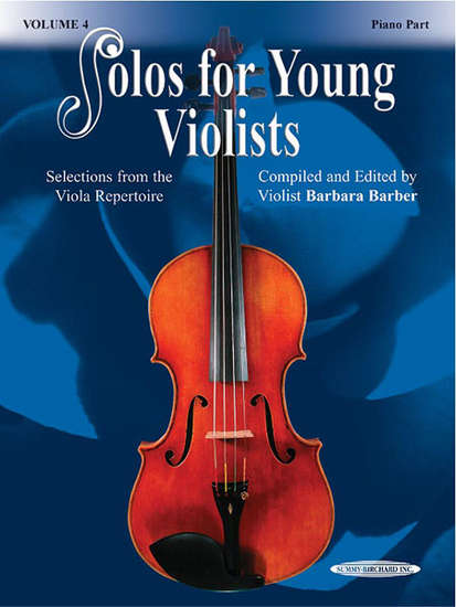 photo of Solos for Young Violists, Vol. 4