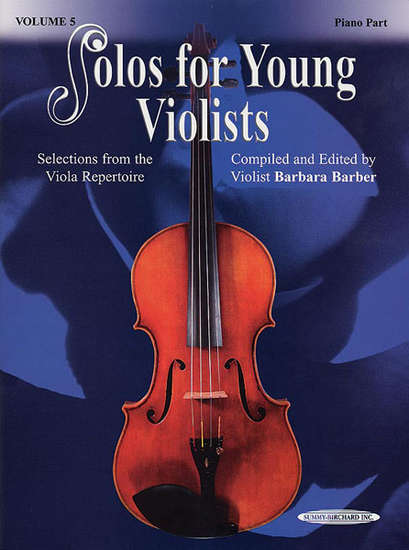 photo of Solos for Young Violists, Vol. 5