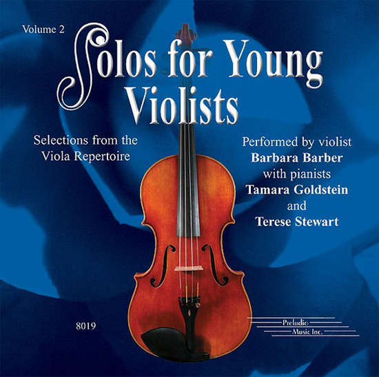 photo of Solos for Young Violists, Vol. 2, CD
