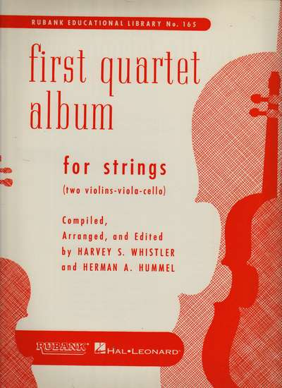 photo of First Quartet Album for Strings