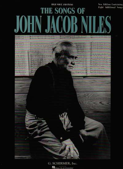 photo of The Songs of John Jacob Niles, High Voice and Piano