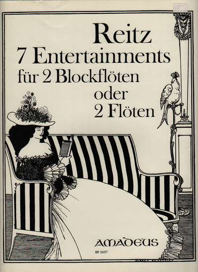 photo of 7 Entertainments für 2 Blockflöten