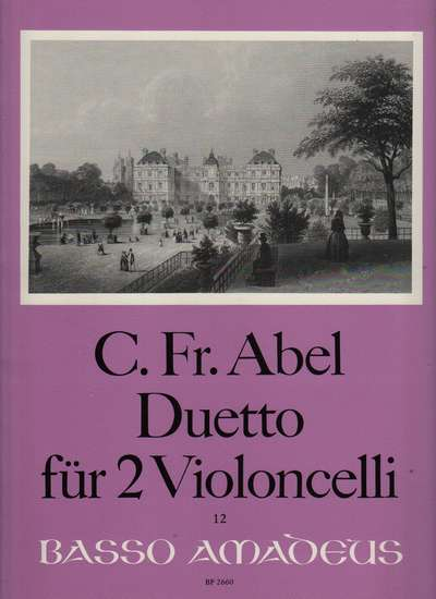 photo of Duetto fur zwei Violoncelli