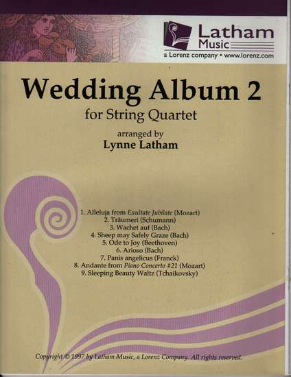 photo of The Wedding Album 2 for String Quartet