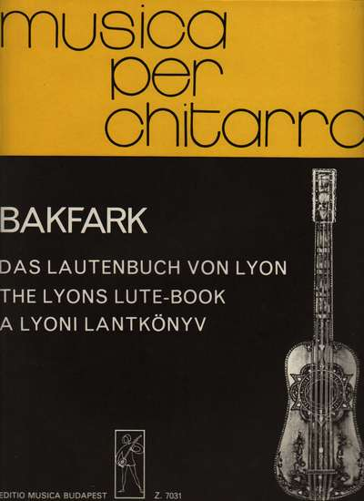 photo of The Lyons Lute-Book