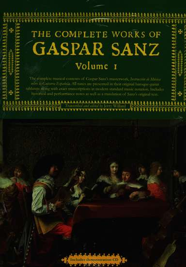 photo of The Complete Works of Gaspar Sanz, Volumes 1 & 2
