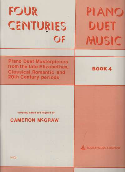 photo of Four Centuries of Piano Duet Music, Book 4