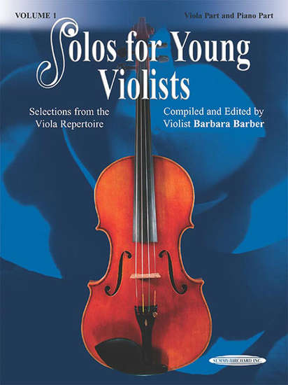 photo of Solos for Young Violists, Vol. 1