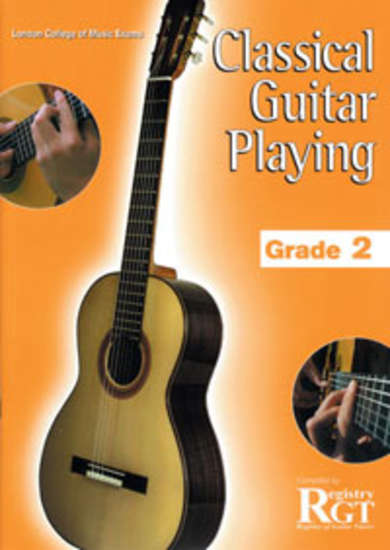 photo of RGT: Classical Guitar Playing, Grade 2