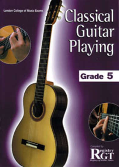 photo of RGT: Classical Guitar Playing, Grade 5