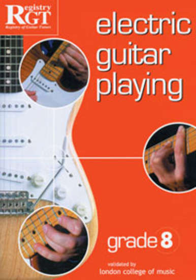 photo of RGT: Electric Guitar Playing, Grade 8