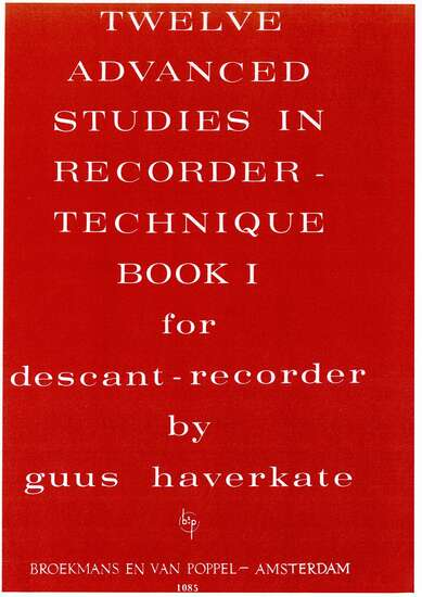 The Art of Playing the Recorder Volume 2 Advanced Recorder