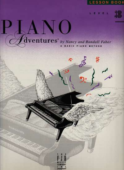 photo of Piano Adventures, Lesson Book, Level 3B, 1998 edition