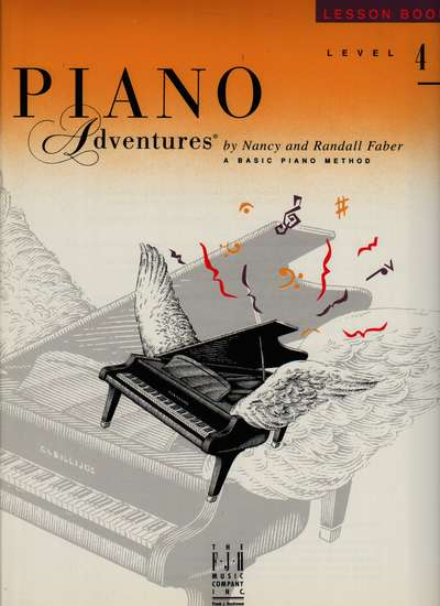 photo of Piano Adventures, Lesson Book, Level 4, 1995 edition