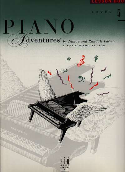 photo of Piano Adventures, Lesson Book, Level 5, 1997 edition