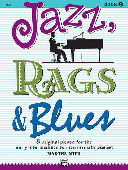 photo of Jazz, Rags & Blues, 8 original pieces, Vol. 2