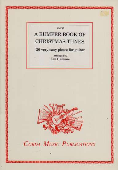 photo of A Bumper Book of Christmas Tunes, 26 very easy pieces for guitar
