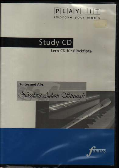 photo of Suites and Airs Study CD, Play It, Music: EP4565