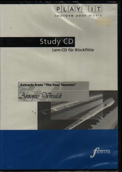 photo of Extracts from The Four Seasons Study CD, Play It, Music: BOE04032