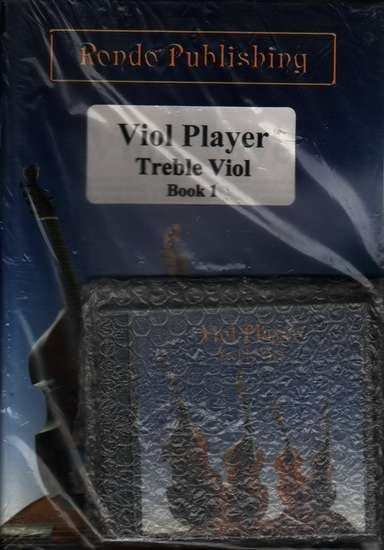photo of Viol Player, Book 1 Treble with CD at 440