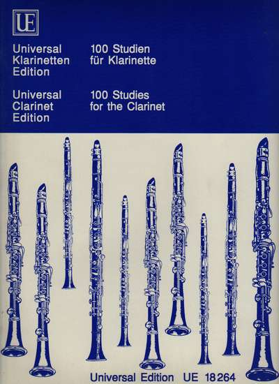 photo of 100 Studies for the Clarinet