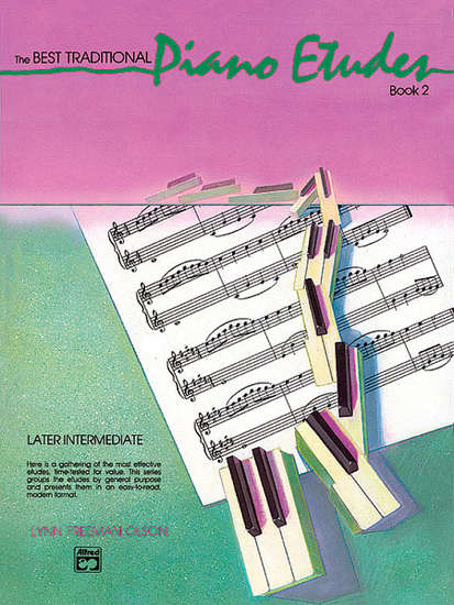 photo of The Best Traditional Piano Etudes, Book 2