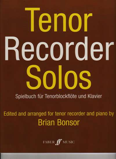 photo of Tenor Recorder Solos