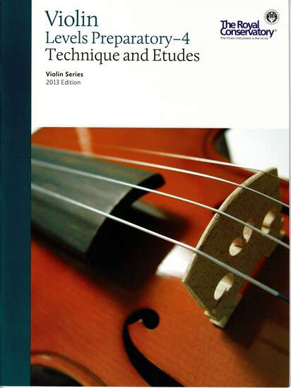 photo of Violin Series, Third Edition, Technique Introductory- Level 4