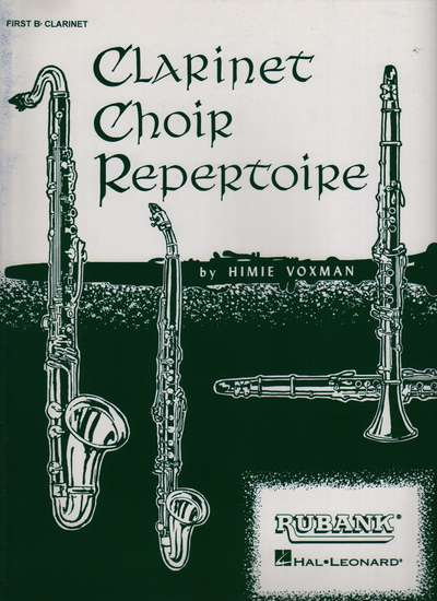 photo of Clarinet Choir Repertoire, 1st Clarinet