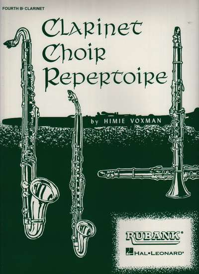 photo of Clarinet Choir Repertoire, 4th Clarinet
