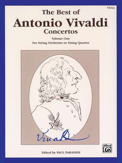 photo of The Best of Antonio Vivaldi Concertos, Volume I, Viola