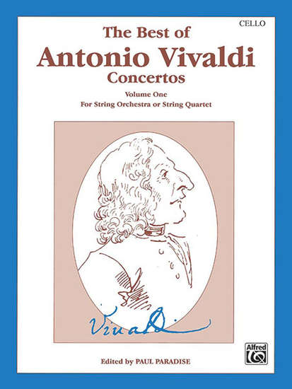 photo of The Best of Antonio Vivaldi Concertos, Volume I, Cello
