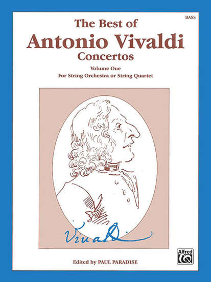 photo of The Best of Antonio Vivaldi Concertos, Volume I, Bass