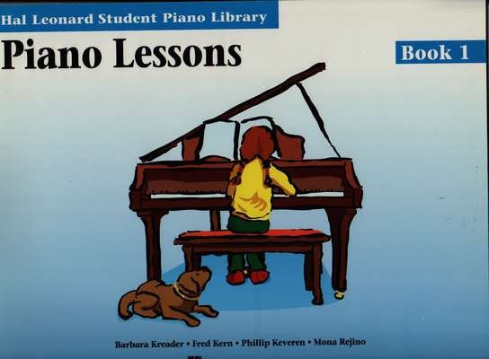 photo of Hal Leonard Student Piano Library, Piano Lessons, Book I