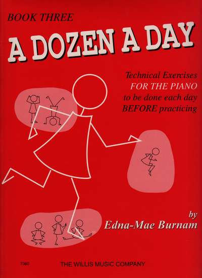 photo of A Dozen A Day, Book Three, Technical Exercises for the Piano