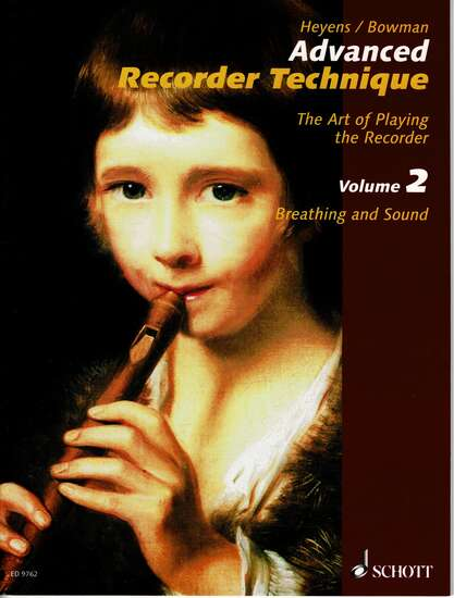 photo of Advanced Recorder Technique, Volume II, Breathing and Sound