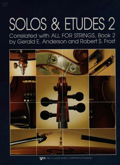 photo of Solos and Etudes II, Viola