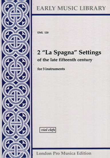 photo of 2 La Spagna Settings, Version for Viols