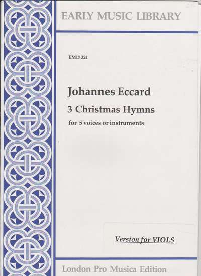 photo of 3 Christmas Hymns, Version for Viols