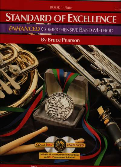 photo of Standard of Excellence, Book 1 Flute, Enhanced