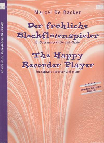 photo of Der Fröhliche Blockflötenspieler- The Happy Recorder Player
