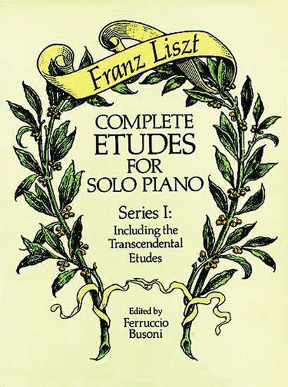 photo of Complete Etudes for the Solo Piano, Series I: Including Transcendental Etudes